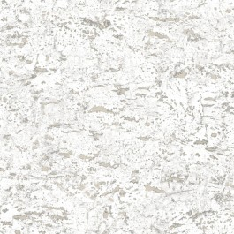 RMK11194WP Faux Cork White Peel & Stick Wallpaper | The Fabric Co