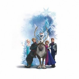 RMK2668GM Disney Frozen Character Winter Burst Wall Decal Mural