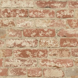 RMK9035WP Stuccoed Red Brick Peel and Stick Wallpaper