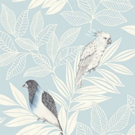 RY30102 Paradise Blue Wallpaper | Seabrook | The Fabric Co