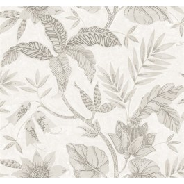 RY30208 Rainforest Ivory Wallpaper   Seabrook   The Fabric Co