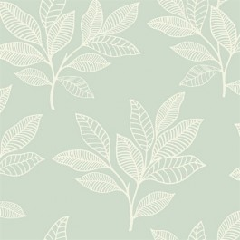 RY30804 Paradise Leaves Mint Wallpaper   Seabrook   The Fabric Co