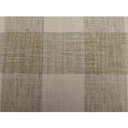 Showhouse Natural Tan Buffalo Check Woven Upholstery Swavelle Mill Creek Fabric
