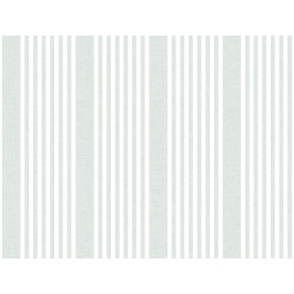 SR1583 French Linen Stripe Green Wallpaper