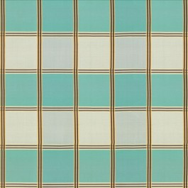 St Martin Plaid Aquamarine by Kasmir Fabrics
