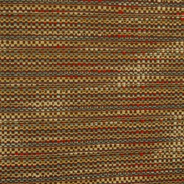 Waverly Tabby Twilight Chenille Brown Red Blue Fabric