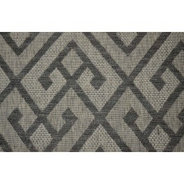 Tejas Gray Neutral Geometric Ethnic Upholstery Swavelle Mill Creek Fabric