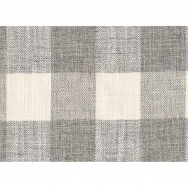 Showhouse Mist Grey Buffalo Check Woven Upholstery Swavelle Mill Creek Fabric
