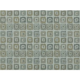 Bebop Pebble Grey Contemporary Geometric Square Upholstery Covington Fabric