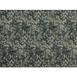 Orleans Cindersmoke Grey Antiqued Damask Print Heavy Cloth Covington Fabric
