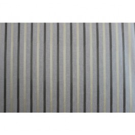 Grey Taupe Embroidered Stripe Curtain Cheverny Fog Swavelle Mill Creek Fabric