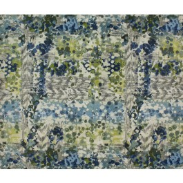 Green Blue Contemporary Watercolor Upholstery Circus Everglade Swavelle Mill Creek Fabric
