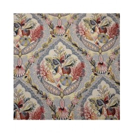 Blue Red Green Seashell Coral Upholstery Coral Gables Carnival Swavelle Mill Creek Fabric