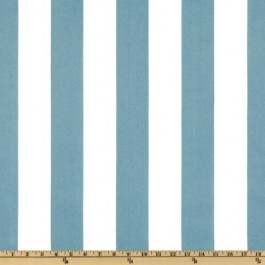 Turquoise Blue 2.25 Inch Stripe Outdoor Finnigan Oceana Swavelle Mill Creek Fabric