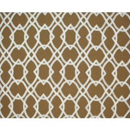 Light Brown Embroidered Geometric Forget Me Knots Copper Swavelle Mill Creek Fabric