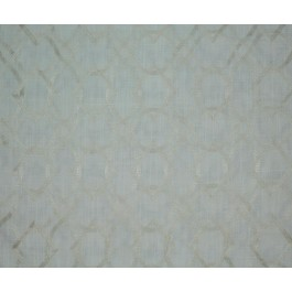 Creamy White Embroidered Geometric Forget Me Knots Snow Swavelle Mill Creek Fabric