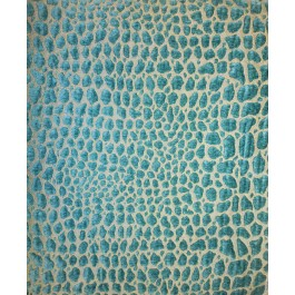 Teal Blue Alligator Chenille Upholstery Gabbana Aegean Swavelle Mill Creek Fabric
