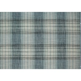 Blue Grey Plaid Upholstery Nuiche Blue Smoke Swavelle Mill Creek Fabric