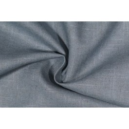 Blue Solid Linen Rayon Old Country Linen Cerulean Swavelle Mill Creek Fabric