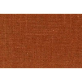 Burnt Orange Solid Linen Rayon Old Country Linen Cinnamon Swavelle Mill Creek Fabric
