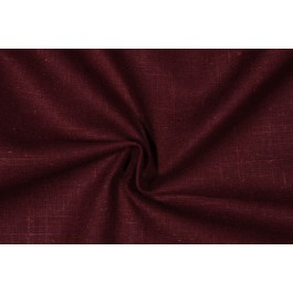 Burgundy Solid Linen Rayon Old Country Linen Cordovan Swavelle Mill Creek Fabric