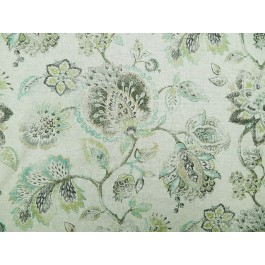 Green Teal Floral Print Satya Jadestone Swavelle Mill Creek Fabric