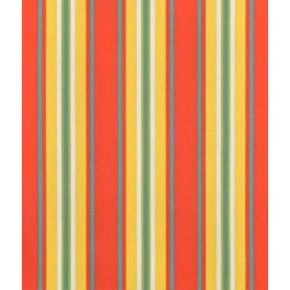 Red Yellow Green Blue Outdoor Stripe Trudy Geranium Swavelle Mill Creek Fabric