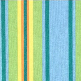 Blue Orange Green Outdoor Stripe Trudy Pacific Swavelle Mill Creek Fabric