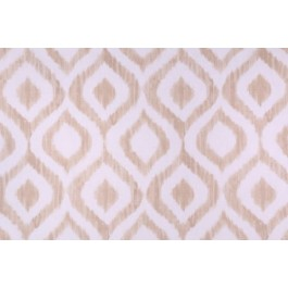 Tan Geometric Ikat Print Zamya Sand Swavelle Mill Creek Fabric