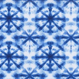 OD Tie Dyed Orbs Navy Blue Circle Geometric Outdoor Waverly PK Lifestyles Fabric