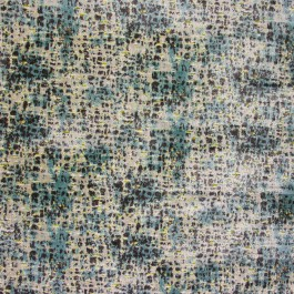 Kunsun Cypress Blue Green Contemporary Spotted Upholstery Richloom Fabric