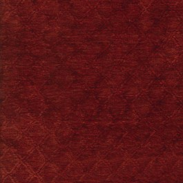 Ballard Ruby Red Antiqued Soft Chenille Textured Lattice Upholstery Regal Fabric