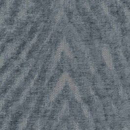Benson Rain Blue Grey Tiger Flamestitch Soft Chenille Upholstery Regal Fabric