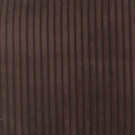 Cab Chocolate Dark Brown Velvet Corduroy .25 Inch Cord Upholstery Regal Fabric