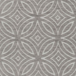 Concord Dove Grey Diamond Circle Textured Chenille Geometric Upholstery Regal Fabric