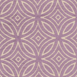 Concord Lilac Purple Diamond Circle Textured Chenille Geometric Upholstery Regal Fabric