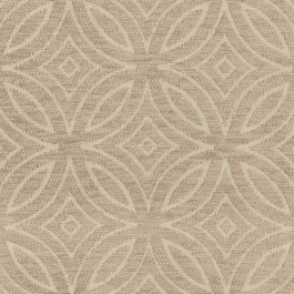 Concord Taupe Tan Diamond Circle Textured Chenille Geometric Upholstery Regal Fabric