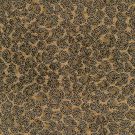 Hutton Truffle Dark Taupe Brown Textured Chenille Leopard Upholstery Regal Fabric