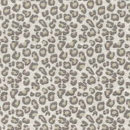 Nikki Sable Taupe Brown Cheetah Leopard Upholstery Regal Fabric
