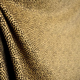Viper Coffee Animal Chenille Soft Upholstery Fabric