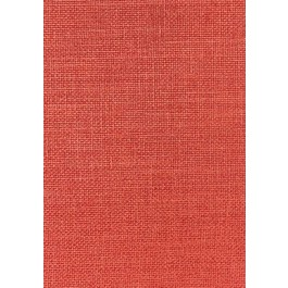 Vista Red Solid Faux Silk Polyester Durable Bartson Fabric