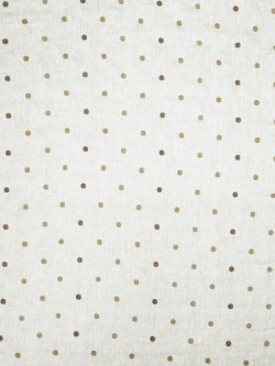 Gorgeous Hollander Dot Taupe Fabric