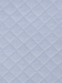 Striking Quilted Velvet Cloud Fabric