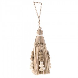 Charming 01364 Natural Decorative Tassel