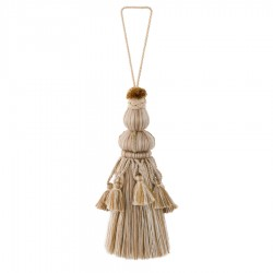 Glowing 01465 Oatmeal Decorative Tassel