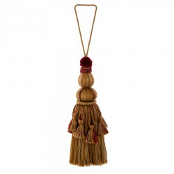 Glowing 01465 Cognac Decorative Tassel