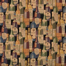 1009 Wine Cellar Fabric by Charlotte Fabrics