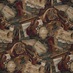 1010 Music Hall Fabric by Charlotte Fabrics