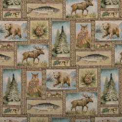 1023 Yellowstone Fabric by Charlotte Fabrics