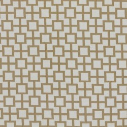 Ming Fret Natural RM Coco Fabric